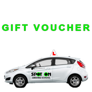spot on driving gift voucher