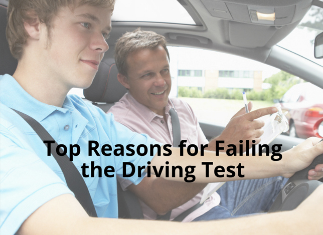 Why People Fail Their Driving Test